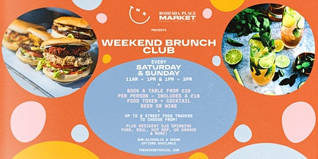 Weekend Brunch Club tickets