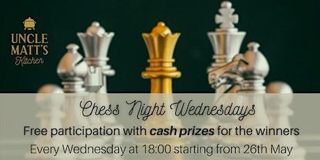 Chess Night Wednesdays tickets