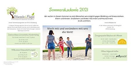 Wurzeln & Flügel Sommerakademie vor Ort Tickets