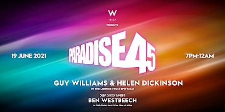 Paradise 45 - Deep Disco Sunset billets