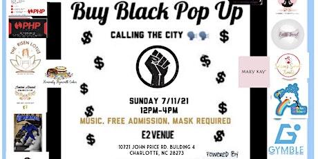 Nxt Big Thing Charlotte: Buy Black Pop Up Shop tickets