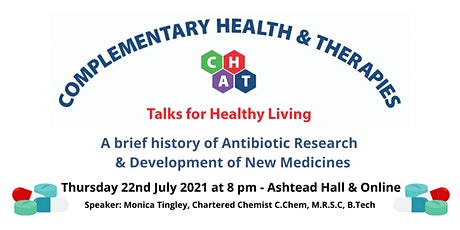 A brief history  of Antibiotic Research & Development of New Medicines tickets