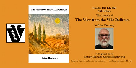 VOLE BOOK LAUNCH: 'The View from the Villa Delirium' by Brian Docherty tickets