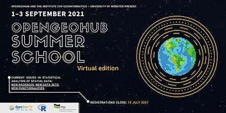 OpenGeoHub Summer School 2021 Day 3 - September 3 biglietti