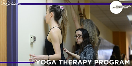 Webinar | Earn your Master's in Yoga Therapy tickets