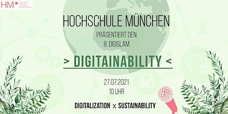 Digi-Slam Digitainability - Digitalization meets Sustainability Tickets