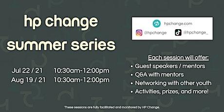 HP Change Summer Series tickets