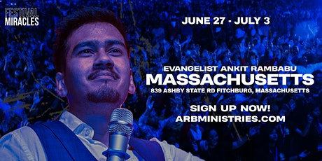 FESTIVAL OF MIRACLES | MASSACHUSETTS, NEW ENGLAND 2021 tickets