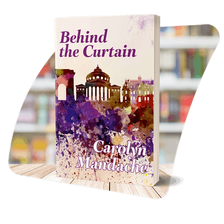 Indie Authors Cafe online - Behind the Curtain image