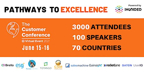 The Customer Conference June 15th and 16th tickets