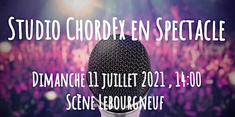 Spectacle école de musique Studio ChordFx billets
