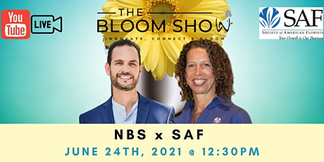 """The Bloom Show"" NBS x SAF With Host Sahid Nahim and guest Kate Penn tickets"