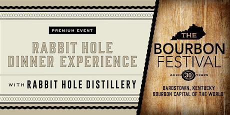 Rabbit Hole Dinner Experience tickets