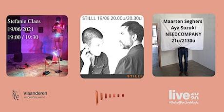 Stefanie Claes/ STILLL  /Maarten Seghers, Aya Suzuki NEEDCOMPANY tickets