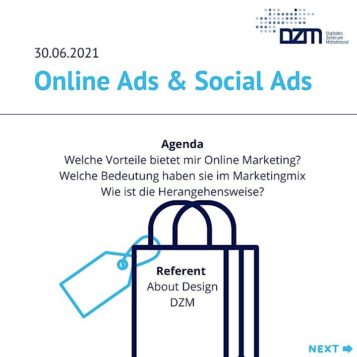 Customer Journey - Online Ads & Social Ads: Bild