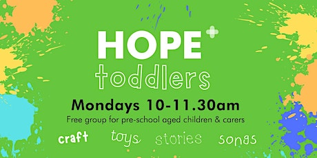 Hope Toddlers tickets