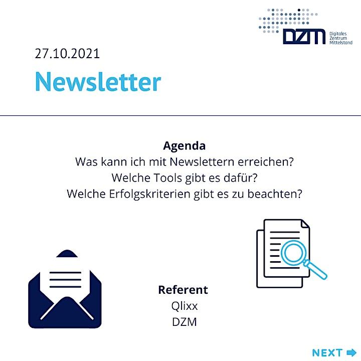 Customer Journey - Newsletter: Bild