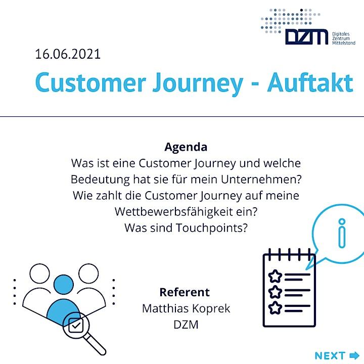 Customer Journey - Auftakt: Bild