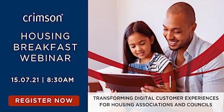 Housing Breakfast | Transforming Digital Customer Experiences in Housing tickets