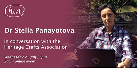 Dr Stella Panayotova in conversation with the Heritage Crafts Association tickets