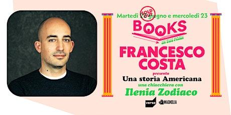 "Books in the Park | Francesco Costa presenta ""Una storia Americana"" biglietti"