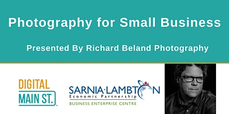Photography for Small Business – Richard Beland Photography tickets