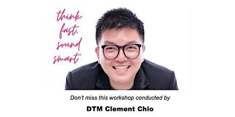 Think Fast, Sound Smart! @ BTMC Chapter Meeting & Workshop tickets