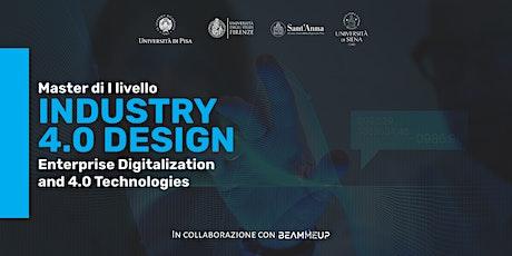 Evento di chiusura della I edizione - Master Industry 4.0 Design biglietti