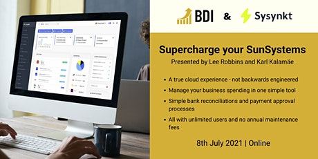 Supercharge Your SunSystems tickets