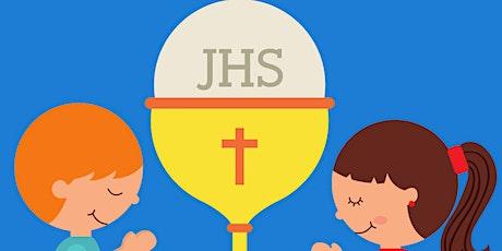 Première communion pour les enfants ayant reçu leur Pardon en avril 2021 tickets