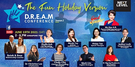 D.R.E.A.M Conference - The Fun Holiday Version tickets