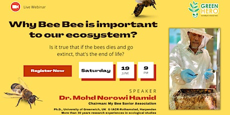 Why Bee Bee is important to our ecosystem? tickets