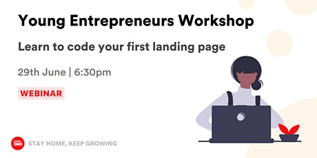 Coding Workshop for Entrepreneurs: Learn to code your first landing page. tickets