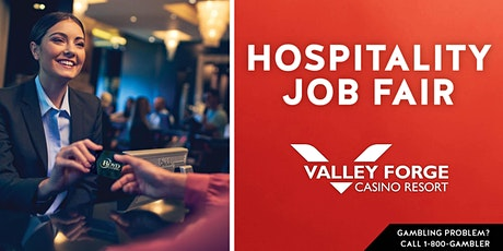 Hospitality Hiring Event Valley Forge Casino Resort tickets