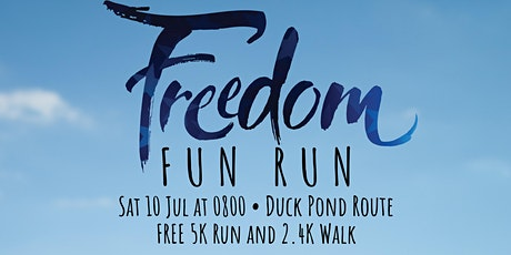 Freedom 5k Fun Run tickets