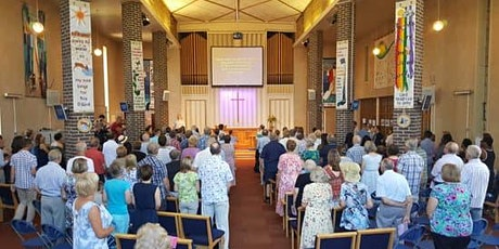 Sunday 20th June Morning Worship with Baptism Sunday Service  at 10.30am tickets