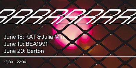 KAT & Julia Mira - Radio Radio - Seated Sessions tickets