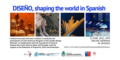 DISEÑO, shaping the world in Spanish tickets