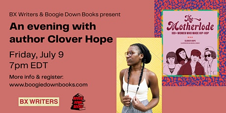 Author Clover Hope featuring The Motherlode: 100+ Women Who Made Hip-Hop tickets