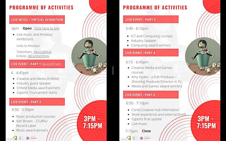 Creative and Computing Virtual Showcase Thursday 24 June 2021 - 3pm-7.15pm image