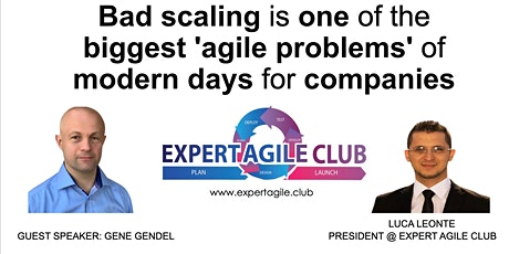 Bad Scaling is One of The Biggest 'Agile Problems' of Modern Days tickets
