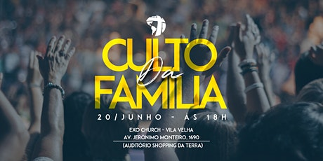 Culto CN-EXO Vila Velha (20/06) ingressos