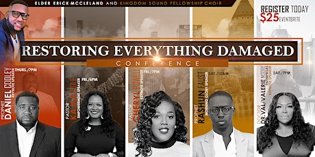 Restoring Everything Damaged Conference 2021 tickets