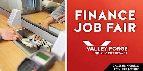 Finance Hiring Event Valley Forge Casino Resort tickets