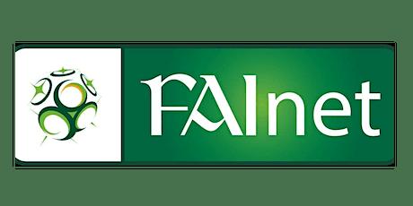 FAInet Open Webinar 6 - Player Registrations tickets