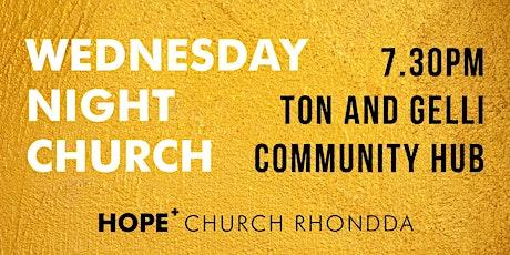 Wednesday Night Church tickets