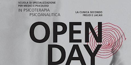 Open day Istituto freudiano 14 settembre 2021 biglietti