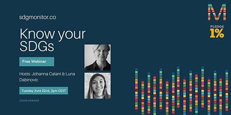 Know your SDGs Webinar | organized by SDG Monitor tickets