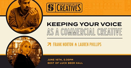 Keeping Your Voice as a Commercial Creative tickets