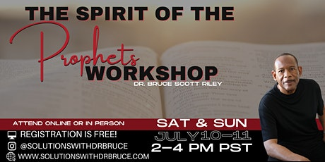 The Spirit of the Prophets Workshop tickets